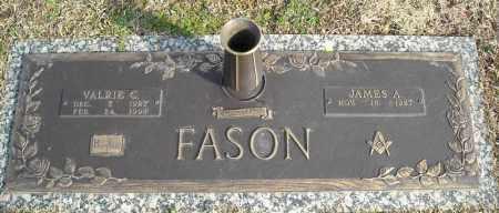 FASON, VALRIE C. - Faulkner County, Arkansas   VALRIE C. FASON - Arkansas Gravestone Photos