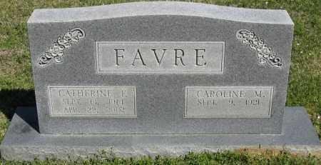 FAVRE, CATHERINE F. - Faulkner County, Arkansas | CATHERINE F. FAVRE - Arkansas Gravestone Photos