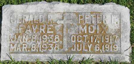 MOIX, PETER L. - Faulkner County, Arkansas | PETER L. MOIX - Arkansas Gravestone Photos