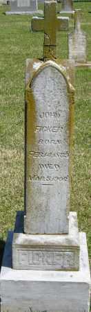 FICKER, JOHN - Faulkner County, Arkansas | JOHN FICKER - Arkansas Gravestone Photos