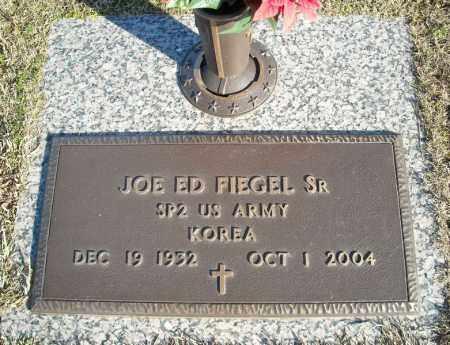 FIEGEL, SR (VETERAN KOR), JOE ED - Faulkner County, Arkansas   JOE ED FIEGEL, SR (VETERAN KOR) - Arkansas Gravestone Photos