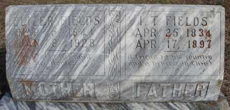 FIELDS, I.T. - Faulkner County, Arkansas | I.T. FIELDS - Arkansas Gravestone Photos