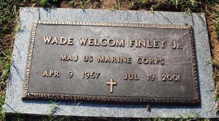 FINLEY, JR.  (VETERAN), WADE WELCOM - Faulkner County, Arkansas | WADE WELCOM FINLEY, JR.  (VETERAN) - Arkansas Gravestone Photos
