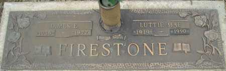 FIRESTONE, LUTTIE MAE - Faulkner County, Arkansas | LUTTIE MAE FIRESTONE - Arkansas Gravestone Photos