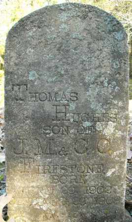FIRESTONE, THOMAS HUGHES - Faulkner County, Arkansas | THOMAS HUGHES FIRESTONE - Arkansas Gravestone Photos