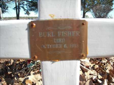 FISHER, BURL (CLOSE UP) - Faulkner County, Arkansas | BURL (CLOSE UP) FISHER - Arkansas Gravestone Photos