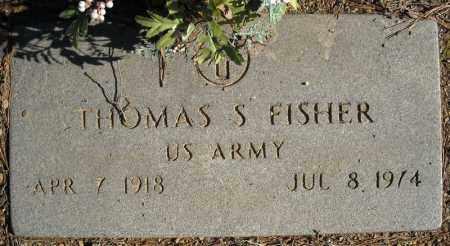 FISHER (VETERAN), THOMAS S - Faulkner County, Arkansas | THOMAS S FISHER (VETERAN) - Arkansas Gravestone Photos