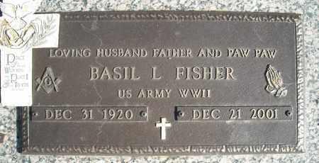 FISHER (VETERAN WWII), BASIL L - Faulkner County, Arkansas | BASIL L FISHER (VETERAN WWII) - Arkansas Gravestone Photos