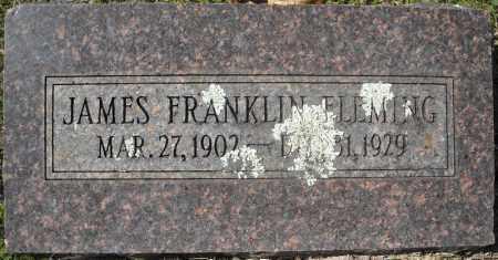 FLEMING, JAMES FRANKLIN - Faulkner County, Arkansas   JAMES FRANKLIN FLEMING - Arkansas Gravestone Photos