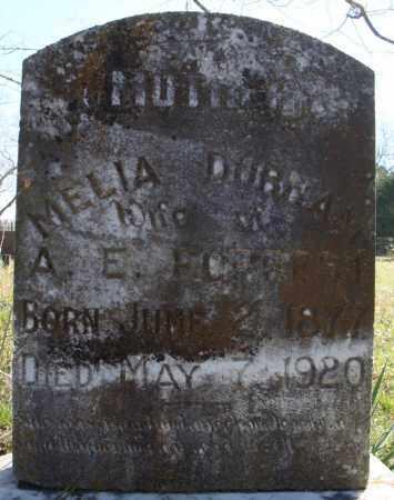 DURHAM FORREST, MELIA - Faulkner County, Arkansas   MELIA DURHAM FORREST - Arkansas Gravestone Photos