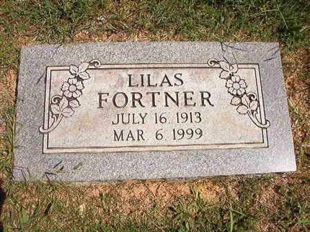 FORTNER, LILAS - Faulkner County, Arkansas   LILAS FORTNER - Arkansas Gravestone Photos