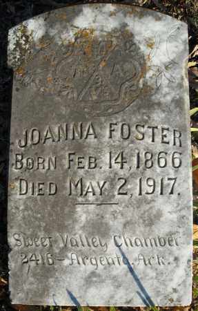 FOSTER, JOANNA - Faulkner County, Arkansas   JOANNA FOSTER - Arkansas Gravestone Photos