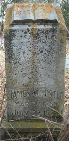 FOSTER, JAMES W. - Faulkner County, Arkansas   JAMES W. FOSTER - Arkansas Gravestone Photos