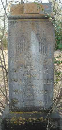 FOSTER, JEWELL E. - Faulkner County, Arkansas | JEWELL E. FOSTER - Arkansas Gravestone Photos