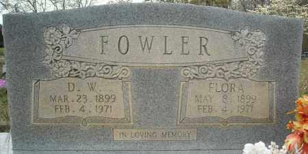 FOWLER, FLORA MARIE - Faulkner County, Arkansas   FLORA MARIE FOWLER - Arkansas Gravestone Photos