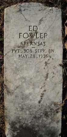 FOWLER (VETERAN), ED - Faulkner County, Arkansas   ED FOWLER (VETERAN) - Arkansas Gravestone Photos