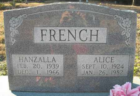 FRENCH, HANZALLA - Faulkner County, Arkansas   HANZALLA FRENCH - Arkansas Gravestone Photos