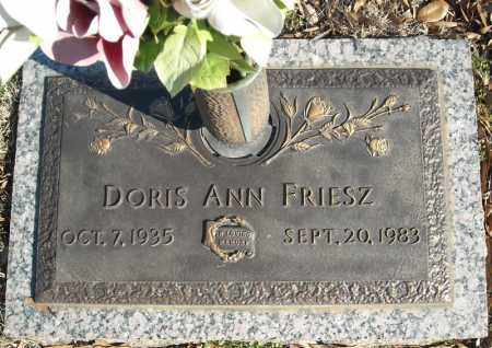 FRIESZ, DORIS ANN - Faulkner County, Arkansas | DORIS ANN FRIESZ - Arkansas Gravestone Photos