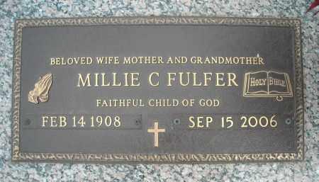 FULFER, MILLIE C. - Faulkner County, Arkansas | MILLIE C. FULFER - Arkansas Gravestone Photos