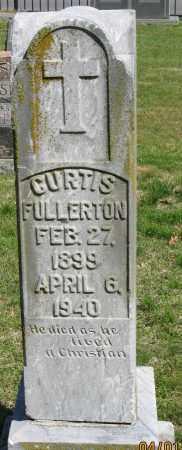 FULLERTON, CURTIS - Faulkner County, Arkansas   CURTIS FULLERTON - Arkansas Gravestone Photos
