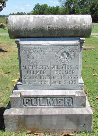 FULMER, WILDURN G. - Faulkner County, Arkansas | WILDURN G. FULMER - Arkansas Gravestone Photos