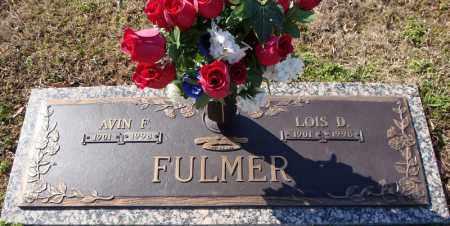 FULMER, AVIN F. - Faulkner County, Arkansas   AVIN F. FULMER - Arkansas Gravestone Photos