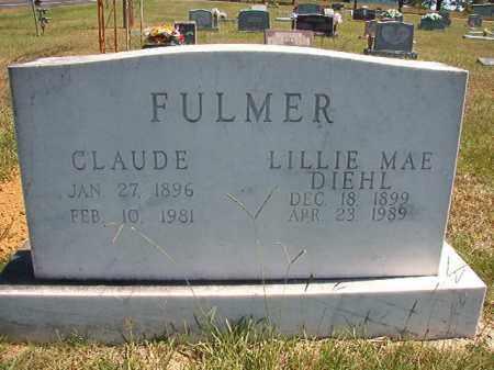 DIEHL FULMER, LILLIE MAE - Faulkner County, Arkansas | LILLIE MAE DIEHL FULMER - Arkansas Gravestone Photos