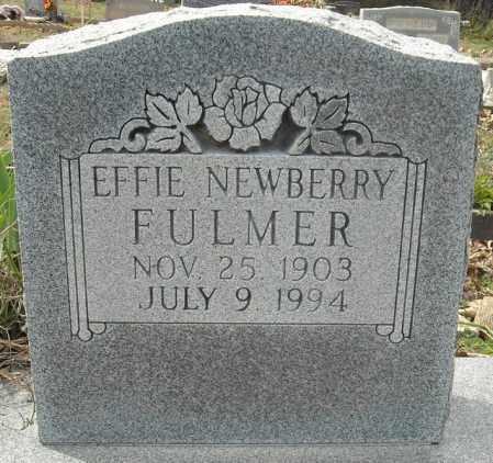 FULMER, EFFIE JANE - Faulkner County, Arkansas | EFFIE JANE FULMER - Arkansas Gravestone Photos