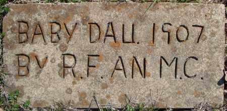 FULMER, INFANT DAUGHTER 2 - Faulkner County, Arkansas   INFANT DAUGHTER 2 FULMER - Arkansas Gravestone Photos