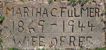FULMER, MARTHA C. - Faulkner County, Arkansas   MARTHA C. FULMER - Arkansas Gravestone Photos