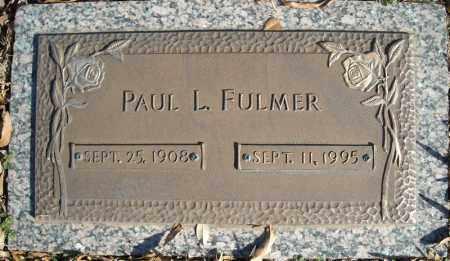 FULMER, PAUL L. - Faulkner County, Arkansas | PAUL L. FULMER - Arkansas Gravestone Photos
