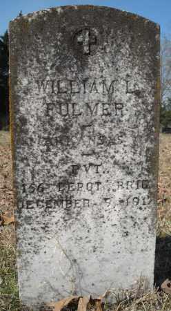 FULMER (VETERAN), WILLIAM L - Faulkner County, Arkansas   WILLIAM L FULMER (VETERAN) - Arkansas Gravestone Photos