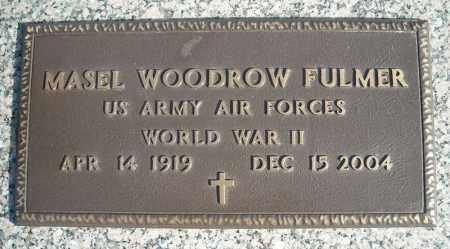 FULMER (VETERAN WWII), MASEL WOODROW - Faulkner County, Arkansas | MASEL WOODROW FULMER (VETERAN WWII) - Arkansas Gravestone Photos