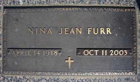 FURR, NINA JEAN - Faulkner County, Arkansas | NINA JEAN FURR - Arkansas Gravestone Photos