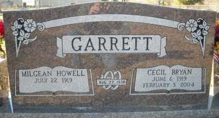 GARRETT, CECIL BRYAN - Faulkner County, Arkansas | CECIL BRYAN GARRETT - Arkansas Gravestone Photos