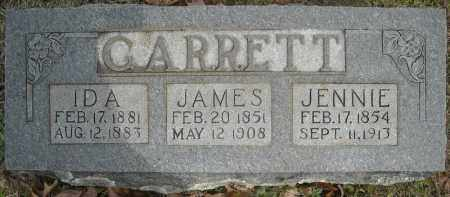 "GARRETT, ELIJAH JAMES ""JIM"" - Faulkner County, Arkansas 