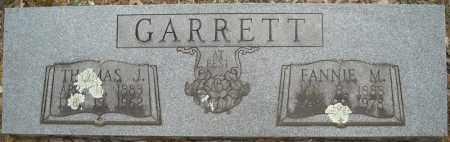 GARRETT, THOMAS JEFFERSON - Faulkner County, Arkansas | THOMAS JEFFERSON GARRETT - Arkansas Gravestone Photos