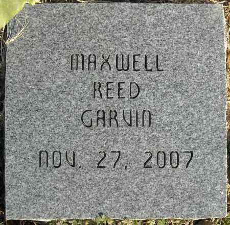 GARVIN, MAXWELL REED - Faulkner County, Arkansas | MAXWELL REED GARVIN - Arkansas Gravestone Photos