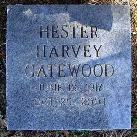 HARVEY GATEWOOD, HESTER - Faulkner County, Arkansas   HESTER HARVEY GATEWOOD - Arkansas Gravestone Photos
