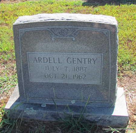 GLOVER GENTRY, ARDELL - Faulkner County, Arkansas | ARDELL GLOVER GENTRY - Arkansas Gravestone Photos