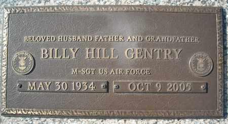 GENTRY (VETERAN), BILLY HILL - Faulkner County, Arkansas   BILLY HILL GENTRY (VETERAN) - Arkansas Gravestone Photos
