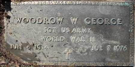GEORGE (VETERAN WWII), WOODROW W - Faulkner County, Arkansas | WOODROW W GEORGE (VETERAN WWII) - Arkansas Gravestone Photos