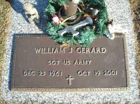 GERARD (VETERAN), WILLIAM J - Faulkner County, Arkansas   WILLIAM J GERARD (VETERAN) - Arkansas Gravestone Photos
