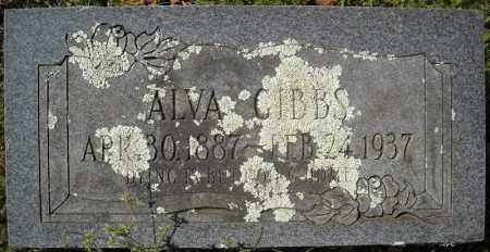 GIBBS, ALVA - Faulkner County, Arkansas | ALVA GIBBS - Arkansas Gravestone Photos