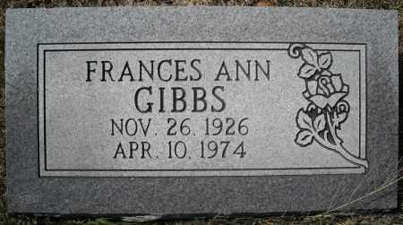 GIBBS, FRANCES ANN (NEW STONE) - Faulkner County, Arkansas | FRANCES ANN (NEW STONE) GIBBS - Arkansas Gravestone Photos