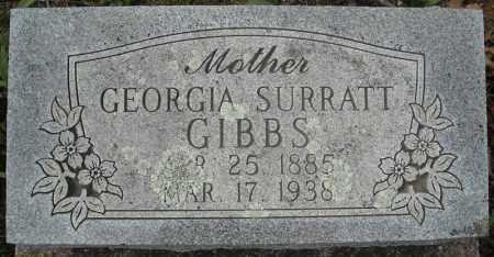 GIBBS, GEORGIA - Faulkner County, Arkansas | GEORGIA GIBBS - Arkansas Gravestone Photos