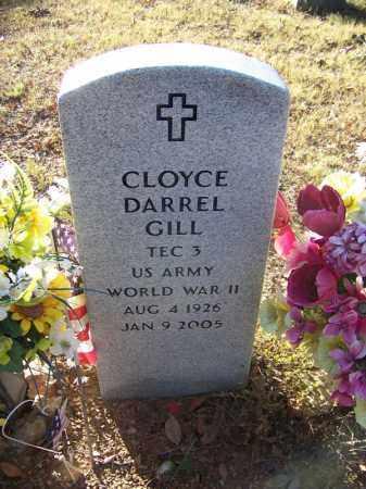 GILL (VETERAN WWII), CLOYCE DARREL - Faulkner County, Arkansas   CLOYCE DARREL GILL (VETERAN WWII) - Arkansas Gravestone Photos