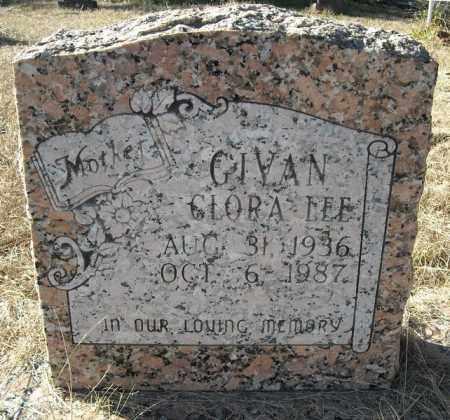 GIVAN, CLORA LEE - Faulkner County, Arkansas | CLORA LEE GIVAN - Arkansas Gravestone Photos