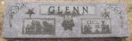 GLENN, CECIL W. - Faulkner County, Arkansas | CECIL W. GLENN - Arkansas Gravestone Photos