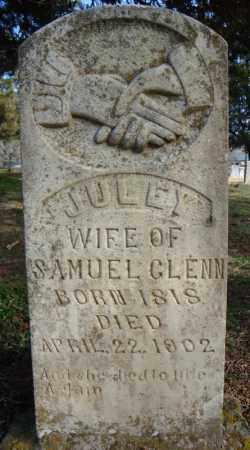 GLENN, JULEY - Faulkner County, Arkansas | JULEY GLENN - Arkansas Gravestone Photos